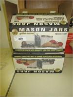 Pint Mason jars