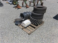 Pallet of Assorted Rims & Tires