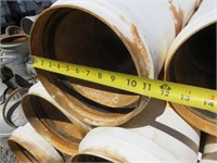 "Approximately (200) 10"" x 30' Gated PVC Pipe w/ Va"