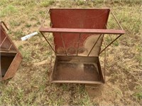 """Metal Hanging Feeder- 24"""" wide x 33"""" tall"""