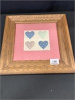 Quilt Block Framed