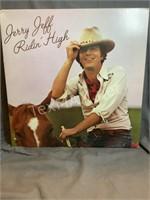 Vintage Jerry Jeff Ridin High Album