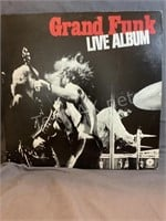 Vintage Double Grand Funk Live Album Set