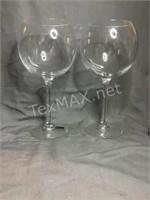 (6) Wine Glasses