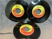 (3) The Beach Boys  45 Records