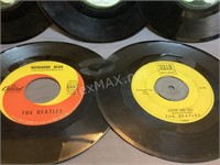 (5) The Beatles 45 Records