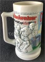 Budweiser Chicago World Cup 94 Beer Stein