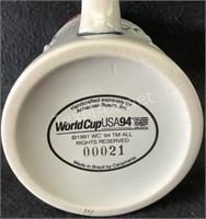 Budweiser Orlando World Cup USA 94 Mug