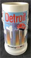Budweiser Detroit World Cup USA 94 Mug
