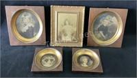 (5) Vintage Frames