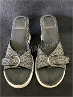 Coach Wedges Size- 6.5