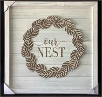 Our Nest Wood Art