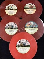 (5) Peter Pan Records 45 Story Tails