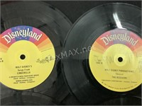 (6) Disneyland 45 Albums with Stories & Songs