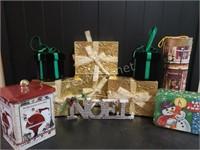 Fake Presents & More Christmas Decor