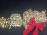 Gold Toned Christmas Decor