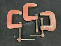 (3) Clamps