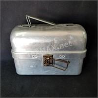 Vintage Aluminum Lunch Pail