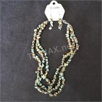 Turquoise Necklace Set