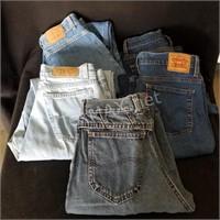 (5) Ladies Jeans Size 10