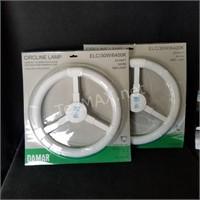 (2) Daylight Circline Lamp Bulbs