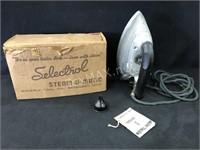 Vintage Steam O Matic Iron