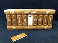 Wooden Jewlery Box 9.5in x 4 in x 6.5 in