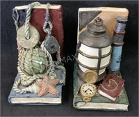 Set of Sea Captain Book Ends