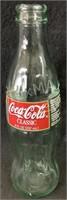 1997 Christmas Coca Cola Bottle
