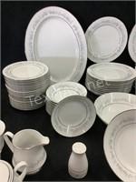 67-Piece Contemporary Noritake Fine China