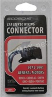 (3) 1973-91 GM Car Stereo Wire Harness / Connector