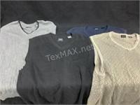 (2) Haggar Golf & (2) Arrow Vests