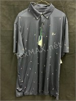 New Izod Golf Shirt Size XL