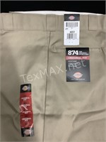 New Dickies Original Fit Pants Sz 44x31
