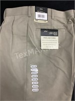 New Natural Issue Executive Khakis Sz 36x30
