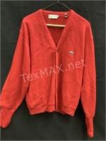 Vintage Izod of London Sweater Sz Large