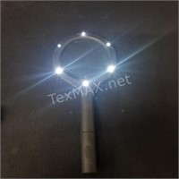 (2) Lighted Magnifying Glasses