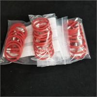 (3) Bags of Ten Retaining Rings