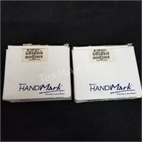 (2) HandiMark Black Ink Ribbons