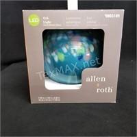 Solar LED Glass Orb Light