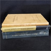 (7) Vintage Vector Analysis Books