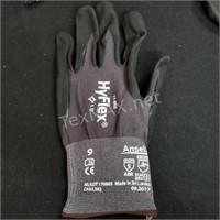 (5) Paint Roller Handles & Gloves