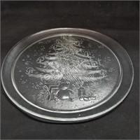 Christmas Plates & Tray