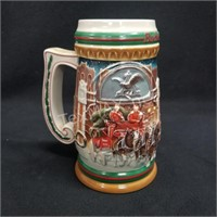 1997 Budweiser Holiday Stein