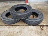 (3) Michelin LTX M/S 235/80/17