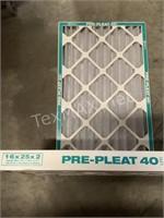 (2) Pre-Pleat 40LPD Merv 8 16x25x2