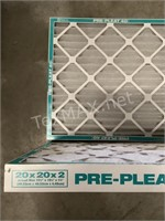 (2) Pre-Pleat 40LPD 20x20x2
