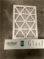(2) Z-Line Air Filters 14 x 20 x 2