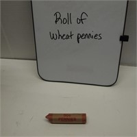 Roll of Wheat Pennies