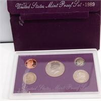1989 United States Mint Proof Set